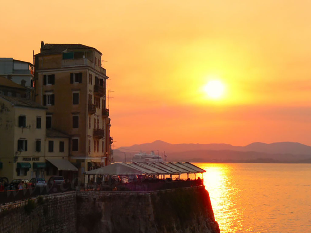mouragia-sunset-corfu-old-town-city-photos-images-pictures-gallery